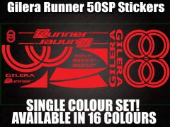 Gilera Runner 50 SP Large Decals/Stickers 50 70 125 172 183 210